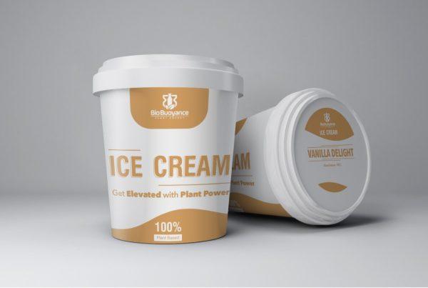 100% Plant Based Ice Cream